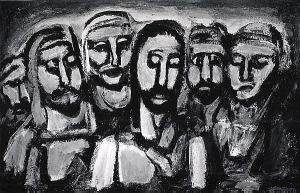 Christ and the Apostles Georges Rouault, 1937-38